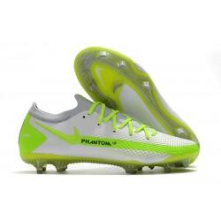 Nike Phantom GT Elite FG Buty Pilkarskie - Biały Zielony