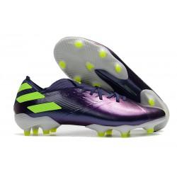 Buty Piłkarskie adidas Nemeziz 19.1 FG - Fioletowy Zielony