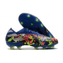 Buty Piłkarskie adidas Nemeziz 19.1 FG - Barcelona Niebieski