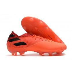 Buty Piłkarskie adidas Nemeziz 19.1 FG - Pomarańczowy Czarny