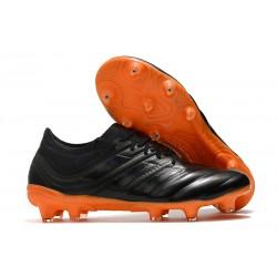 Profesjonalne Buty piłkarskie Adidas Copa 19.1 FG Czarny Pomarańczowy