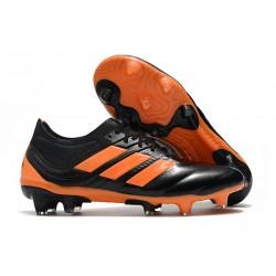 Profesjonalne Buty piłkarskie Adidas Copa 19.1 FG Pomarańczowy Czarny