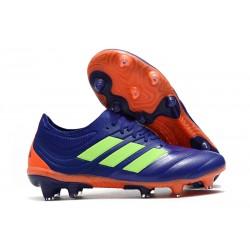 Profesjonalne Buty piłkarskie Adidas Copa 19.1 FG Fioletowy Zielony