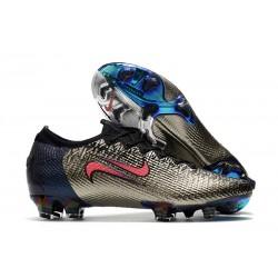 Nike Buty piłkarskie Mercurial Vapor 13 Elite FG Srebro Czerwony