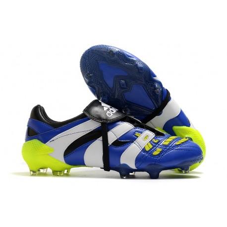 Tanie Buty adidas Predator Accelerator FG - Niebieski Biały Zawistny