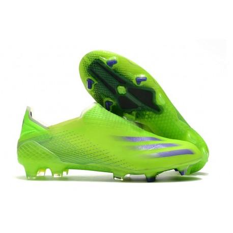 Buty Piłkarskie adidas X Ghosted + FG Zielony Zielony