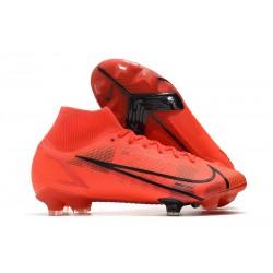 Nike Mercurial Superfly 8 Elite FG Czerwony Czarny