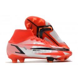 Nike Mercurial Superfly 8 Elite FG Czerwony Biały Czarny
