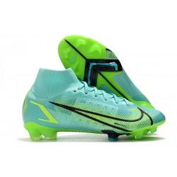 Nike Mercurial Superfly 8 Elite FG Niebieski Zielony