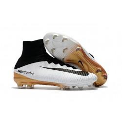 Nowe Buty piłkarskie Nike Mercurial Superfly V FG Czarny Platynowy