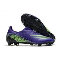 Korki Piłkarskie adidas X Ghosted.1 FG Fioletowy Zielony