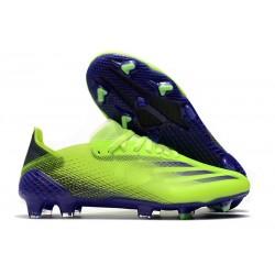Korki Piłkarskie adidas X Ghosted.1 FG Zielony Fioletowy