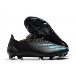 Korki Piłkarskie adidas X Ghosted.1 FG Czarny Niebieski Wilczy