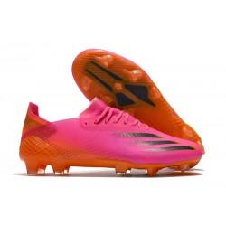 Korki Piłkarskie adidas X Ghosted.1 FG Różowy Czarny Pomarańczowy