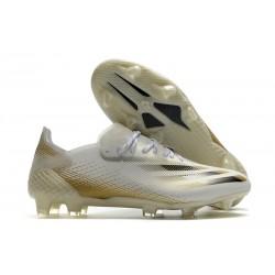 Korki Piłkarskie adidas X Ghosted.1 FG Biały Złoto Czarny