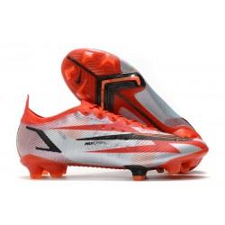 Korki Pilkarskie Nike Mercurial Vapor 14 Elite FG Czerwony Biały Czarny