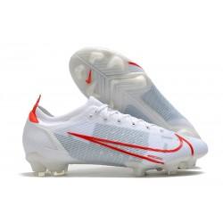Korki Pilkarskie Nike Mercurial Vapor 14 Elite FG Biały Czerwony