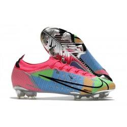 Buty Nike Mercurial Vapor XIV Elite FG Różowy Niebieski Czarny