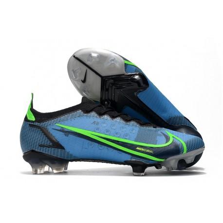 Buty Nike Mercurial Vapor XIV Elite FG Niebieski Czarny Zawistny