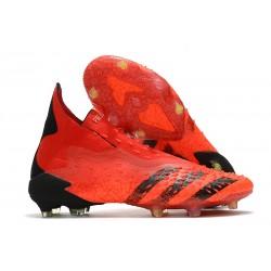 Buty adidas Predator Freak+ FG Czerwony Czarny