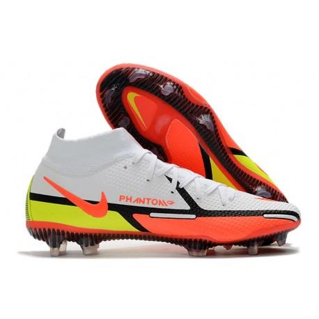 Korki Nike Phantom GT2 Elite DF FG Biały Czerwony Zawistny