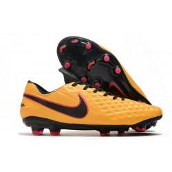 Nike Tiempo Legend VIII Elite FG Korki Pilkarskie Pomarańczowy Czarny